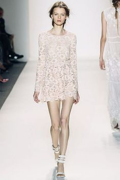 Rachel Zoe's Spring 2014 Collection {a pretty lacy look}