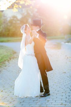 Seriously Romantic Wedding Style | See the wedding on SMP: http://www.StyleMePretty.com/2014/01/28/colorful-fall-germany-wedding-at-gut-sonnenhausen/ Carmen And Ingo Photography