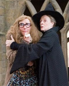 Emma Thompson and Maggie Smith