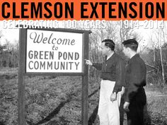 Extension Circular 403: Community Development in South Carolina, April 1955. Image courtesy of Clemson University Special Collections. #ClemsonExt100