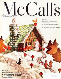 Vintage McCalls Christmas Cover (1950)