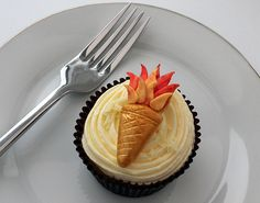 Olympic Torch Cupcake