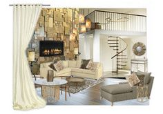 Olioboard.com lets you put together moodboards for decorating. fun! decor room, living rooms, mood boards, fireplaces, room mood, futur fireplac, moodboard, live room, spiral staircases