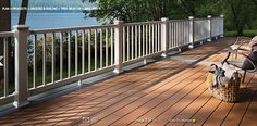 Trex railing and deck