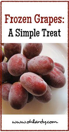 Frozen Grapes - www.ohlardy.com