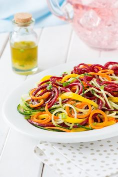 The Hot Plate Favourite: Spiralized Salad