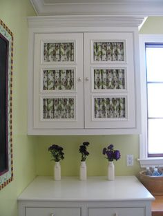 How to: Cabinet Curtains + the hardware you'll need. Rowley Company Blog | Decorating Supplies and More