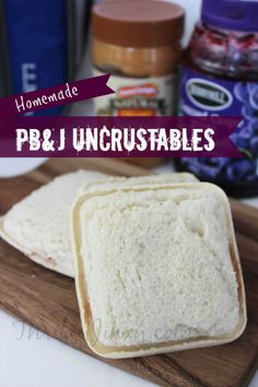 Homemade Uncrustables PB&J Recipe - Perfect for School Lunches - Thrifty Jinxy