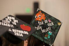 There it is! Nemo Grad cap!
