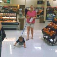 And this ladies and gentlemen is what lazy parenting looks like!
