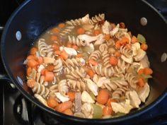 Homemade Chicken Soup/Stew #healthy #recipe #soup #stew #chicken
