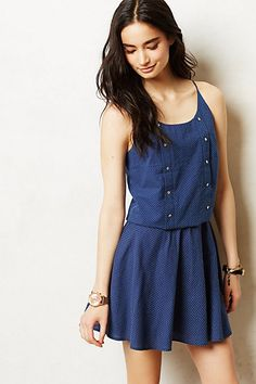 Dotted Swing Skirt & Top #anthropologie #anthrofave