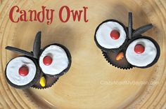 Halloween Treats | Candy Owl Tutorial #Halloween #owl #Candy
