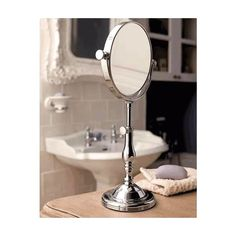 An elegant free standing mirror - essential for any traditionally styled bathroom.    Imperial Istia Albert Free-standing 6'' Mirror    Freestanding Bathroom Mirrors from UK Bathrooms