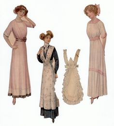 The Paper Collector: Paper dolls c. 1911