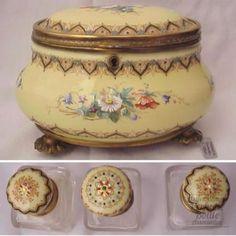 Limoges Enamel Perfume Casket, circa 1850