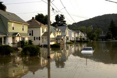 Johnson City, NY..the great flood