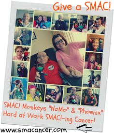 """Give a SMAC!- true """"creature comforts"""" for those with/impacted by #cancer.  Order at: http://www.smacancer.com/  #SMACancer #beatcancer"""