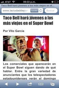 Super Bowl Commercials « The Creative Language Class