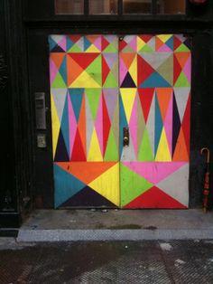 Broadway door, SoHo.