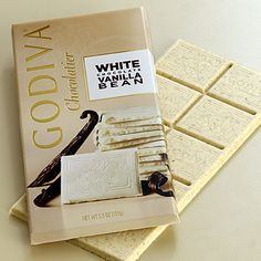 Celebrate National White Chocolate Day #GODIVA $5.00