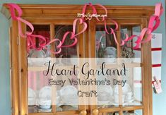 heart garland, #hear