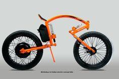 Nisttarkya Electric Concept Bike...dear oh dear....ever seen a human?