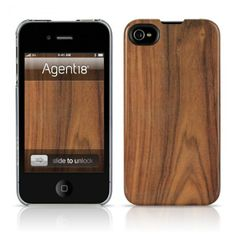 Faux Bois Iphone cover