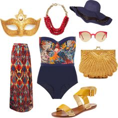 NOLA Pool Party by summerbriley,