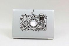 Mooie-camera-Vinyl-Decal-Protective-Laptop-sticker-voor-Apple-MacBook-Air-Pro-Humor-Skin-Art-protector