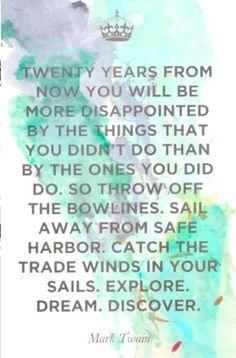 Explore. Dream. Discover.
