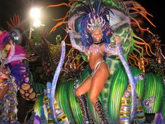 """Carnival in Rio. Read """"Top 10 Festivals For Your World Travel Bucket List"""" at GreenGlobalTravel...."""