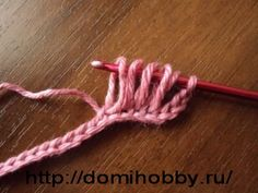 This site shows you how to do broomstick crochet without the broomstick, and then it gives several more broomstick stitches. <3
