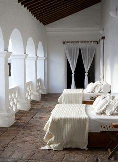 beds, home interiors, sleeping porch, dreams, dress, sleep porch, bedrooms, porches, light