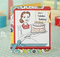 FREE retro illustrations for your handmade cards. Just download and print – hooray!