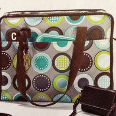 I Love the NEW minty chip!!!!  Market Thermal Tote-$45