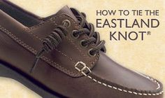 Eastland Boat Shoes with the mandatory Eastland Knot