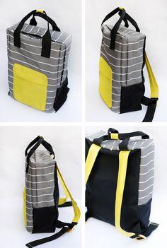 Backpack sewing tutorial