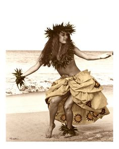 I want to learn a more traditional hula