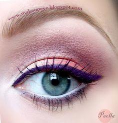 Paolla-Maquillaje Purple Line