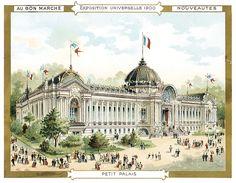 Vintage World's Fair postcard - Paris (1900)