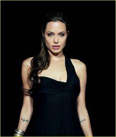 Angelina Jolie - Tattoos