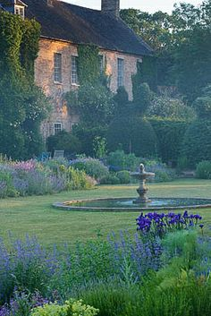 Narborough Hall  Stunning moated garden, Norfolk