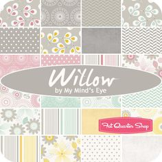 Willow Fat Quarter Bundle My Mind's Eye for Riley Blake Designs - Fat Quarter Shop