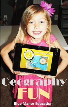 Simple Geography game will have your kids learning more locations than you know!
