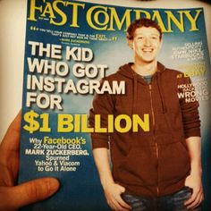 Read all about it! Facebook acquires Instagram for $1 Billion!   http://instagr.am/p/JNXp3NirII/