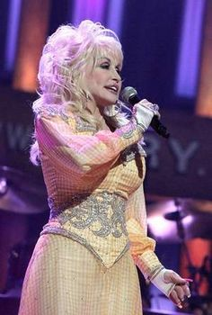 Dolly Parton's gone gold again, bless her heart, with a Cracker Barrel album.  Who's gonna send me one here in the UK?