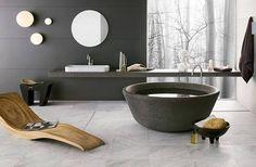 The Art of Luxurious Modern Rustic Bathrooms | POSH365INC
