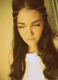 Grecian style headchain Jewel Headdress by BLACKTHORNJEWELLERY, £19.99