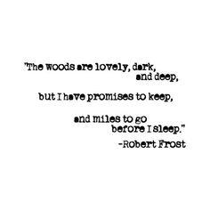 Robert Frost - My favorite. ❤